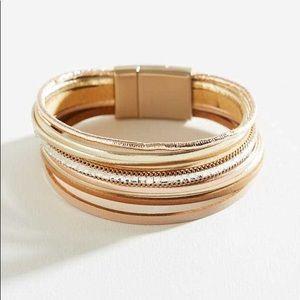 Altar'd State Leather Bracelet